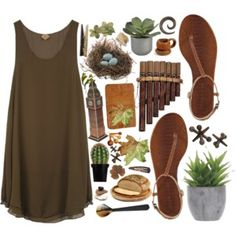 Designer Clothes, Shoes & Bags for Women Outdoor Wear, Crate And Barrel, My Style, Hippie Style, Fashion Shoes, Summer Dresses, Polyvore, Wardrobe Ideas, How To Wear