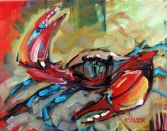 Who let the crab loose? Rick Nilson