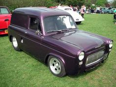 Ford Anglia, Cool Old Cars, Day Van, Old Fords, Custom Vans, Gmc Trucks, All Cars, Drag Racing, Buses