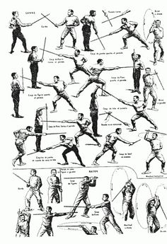 Bartitsu cane fighting manual aka Sherlock Holmes Style