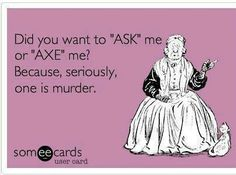 """It's """"ask"""""""