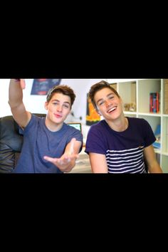 Jack and Finn Harries. I love them! And their videos are hilarious!