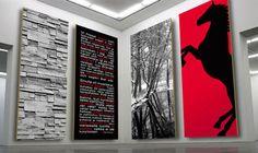 Panel decorativo de pared / de material compuesto / impreso PRINT PAROC