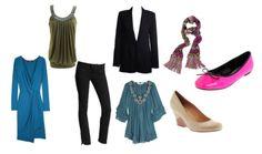 How to dress according to body type : long legs short torso short waist