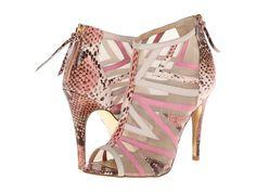Chinese Laundry - - Kristin Cavallari - Luscious (Pink Python) High Heels on BuyFantasticShoes.com
