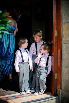 Pageboys with converse and braces. View full wedding: http://goodbyemiss.com/wedding/a-lough-rynn-castle-wedding-from-gingerpixel
