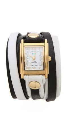 2f2f5f8cf988e Shop for Square Case Wrap Watch by La Mer at ShopStyle.