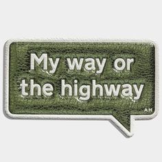 My Way Sticker
