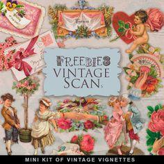 Kit Freebies Vintage Viñetas