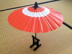 雑貨屋 Capriccio.to / ミニチュア 和紙製 和傘L (30cm)