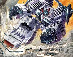 SL Metroplex pages 16-17 by *PriscillaTR on deviantART - Transformers Autobot