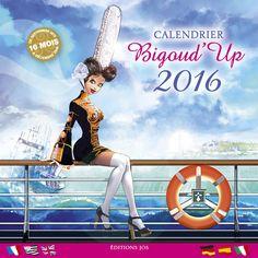 Grand calendrier Bigoud'Up de Thierry Fagot sur Rêves de Bretagne