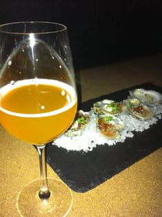 oysters n beer