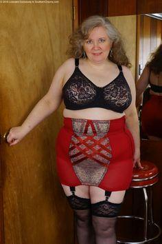 garter belt amateur mature women