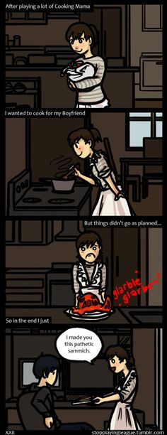 When I try to cook... Same thing happens with me