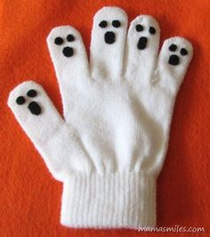 Easy and Fun Halloween Craft: No-Sew Ghost Hand Puppet