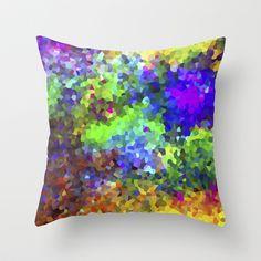 Aquarela_Textura digital  Throw Pillow by Amanda Araujo - $20.00