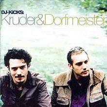 Kruder & Dorfmeister - DJ Kicks album cover.