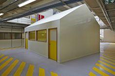 Technological Halls of Ecole Nationale Supérieure des Arts et Métiers-ParisTech, Paris, 2013 - Architecture Patrick Mauger