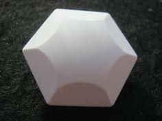 18 Stück Jackenknöpfe mit Öse,6 Eck Weiß,Durchmesser ca.27 mm,Neu,Lübecker Knopfmanufaktur von Knopfshop auf Etsy