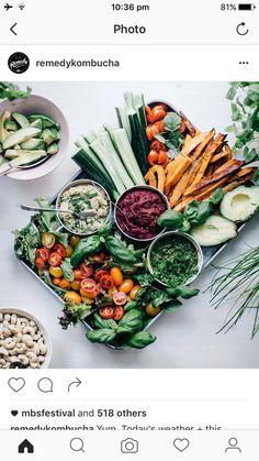 Veggie platter inspo