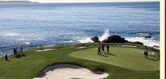 Carmel California - Pebble Beach Golf Course
