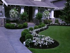 Small yard landscaping ideas design your front yard,for garden design front garden landscaping,front house garden design ideas front of house planting design. Front Yard Walkway, Small Front Yard Landscaping, Front Yard Design, Front Stoop, Brick Walkway, Boxwood Landscaping, Driveway Landscaping, Backyard Landscaping, Backyard Ideas