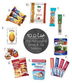 Healthy Grab & Go Snacks Healthy Eating Recipes, Nutritious Meals, Healthy Tips, Healthy Snacks, Snack Recipes, Lunch Snacks, Yummy Snacks, Go Greek Yogurt, Cheerleading