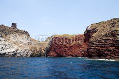Stock photo available for sale at Fotolia: Geological Formations, Capraia Island