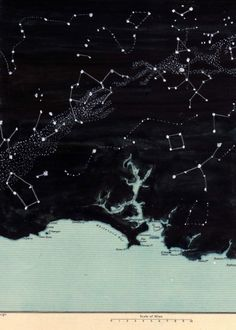 vintage star maps. Even maps of the stars can show us the way.