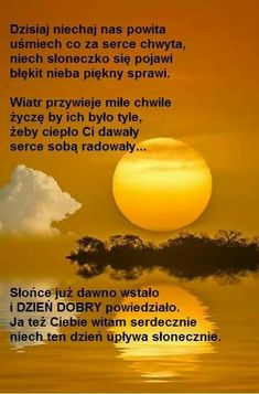 Morning Images, Motto, Quotes, Yellow Sky, Pictures, Night, Frases, Fotografia, Polish