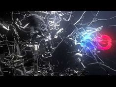 Abstract Glass Shatter Logo Opener (Videohive After Effects Templates)