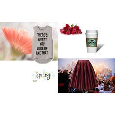 Typical Sunday Day by unicornslifeever on Polyvore featuring INC International Concepts and morning