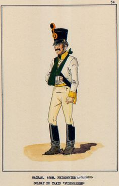 Austria; Train 'Furhwessen' , Private, Wagram, 1809