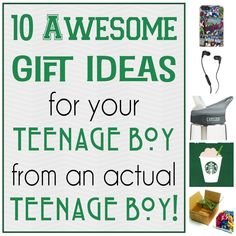 10 Awesome Gifts for your Teenage Boy!