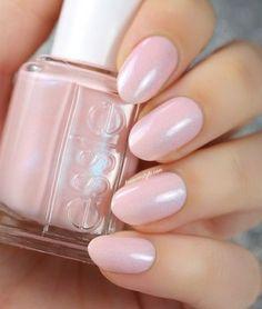Unghie rosa perla