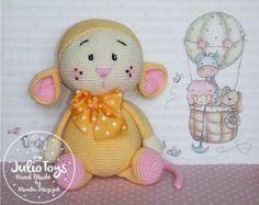 Glutton Mouse - crochet pattern