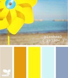 pinwheel yellow