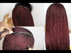 How To Do Box Braids With Cornrows Beyonce Formation video hair Click the image now for more info. Afro Braids, Ghana Braids, African Braids Styles, Braid Styles, Alicia Keys Braids, Locks, Beyonce Braids, Braids With Beads, Scalp Braids With Weave