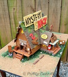 Mystery Shack gingerbread house