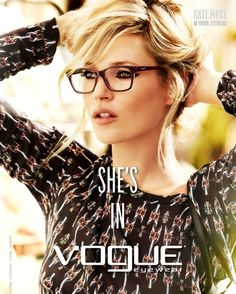 a36ef8f45 Kate Moss usa Vogue VO2714 #glass #oculos #KateMoss #fashion #topmodel #