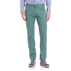 Faconnable Flat-Front Pants (13.610 RUB) ❤ liked on Polyvore featuring men's fashion, men's clothing, men's pants, men's dress pants, apparel & accessories, mens zip off pants, mens flat front pants and mens flat front dress pants