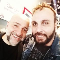 Joined in studio by hilarious comedian Omid Djalili @omid9. You can see him live tonight #JFL42