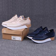 Хорошие товары, экспортируемые в испанскую дикую одежду, удобные повседневные туфли, увеличенные толстые подошвы, обувь европейского и американского стиля - Taobao