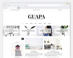 Best Minimal WordPress Blog Theme@creativework247...
