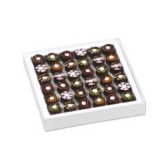 Infuzzz<br>Gourmet chocolates<br>with bubble of infusion by RICHART