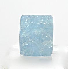 Blue Aquamarine Gem Stone Cabochon Contour by FenderMinerals,