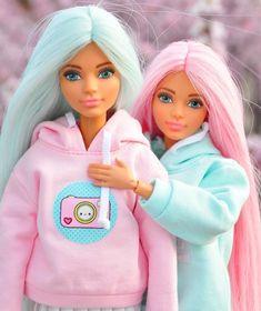 Barbie Style, Barbie Dolls Diy, Barbie Fashionista Dolls, Diy Barbie Clothes, Barbie Model, Barbie Clothes Patterns, Barbie Hair, Barbie Toys, Barbie Life