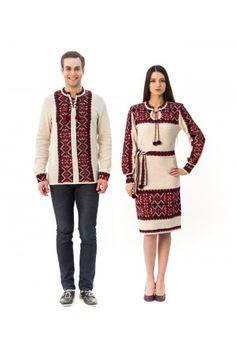Сімейний комплект «Вертеп» складається з в'язаної сукні та чоловічої в'язаної вишиванки. Sweaters, Fashion, Moda, Fashion Styles, Sweater, Fashion Illustrations, Sweatshirts, Pullover Sweaters, Pullover