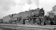 "Delaware & Hudson 4-6-6-4 Class Z-6 ""Challenger"" Steam Locomotive   Built by the American Locomotive Company in 1940"
